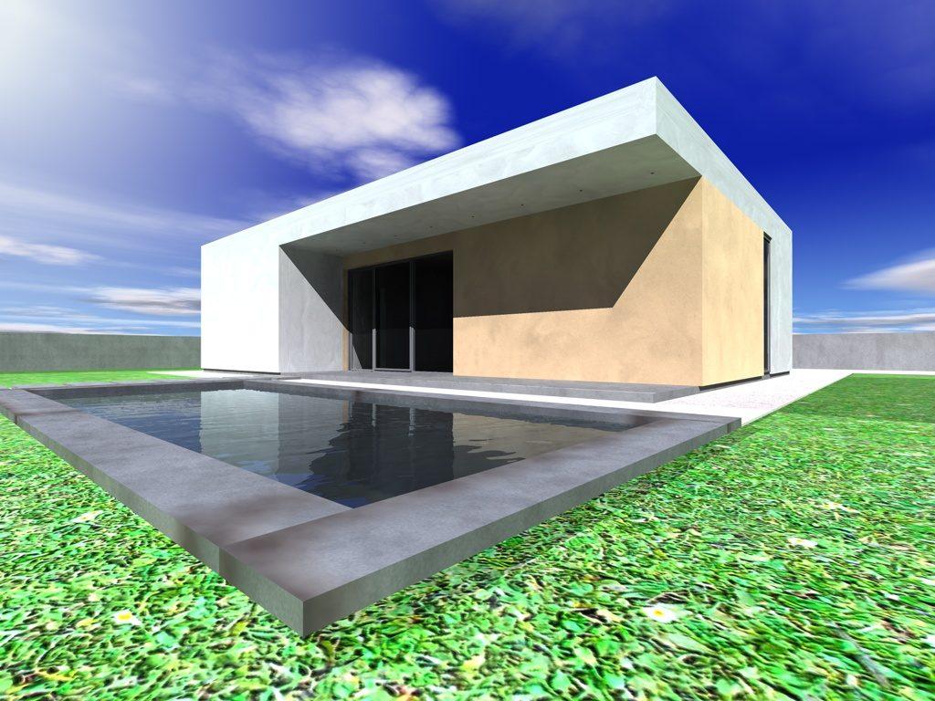 casa in pannelli SIP 78 mq